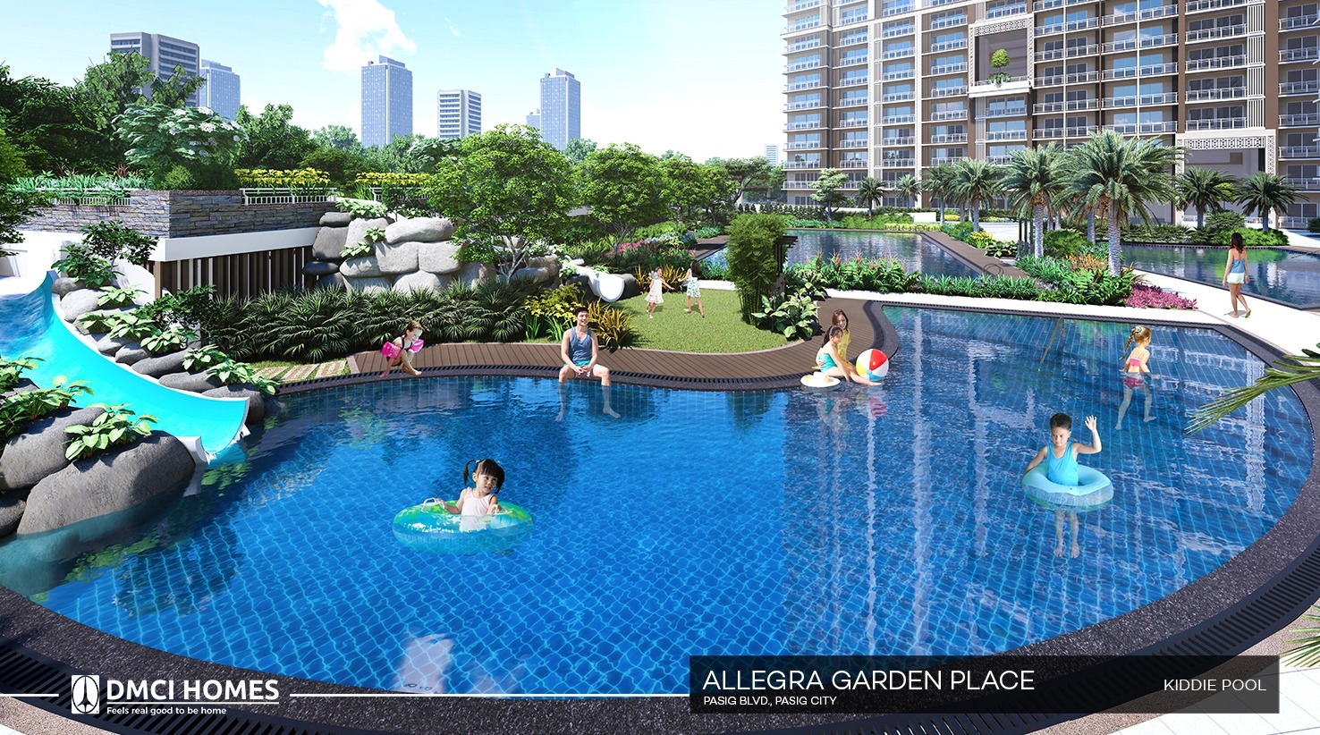 Allegra Garden Place - Pasig City DMCI Homes
