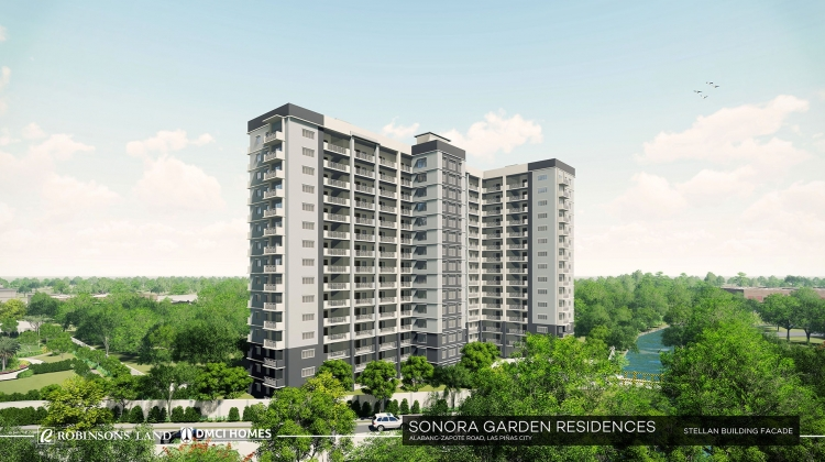 Sonora Garden Residences Mid Rise Building